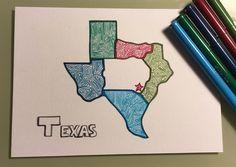 Quick trip to Austin TX. #drawing #illustration #lineart #lepen #texas #austin #austintx