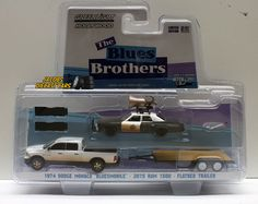 1:64 GREENLIGHT HOLLYWOOD HITCH & TOW SERIES 1 - THE BLUES BROTHERS #GreenLight #Dodge