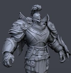 Hercules Skin for SMITE, David Riddle on ArtStation at https://www.artstation.com/artwork/oREW4