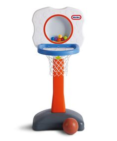 Look at this Little Tikes Clearly Sports Basketball Set on #zulily today!