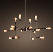 Varick Chandelier Vintage Bronze Medium
