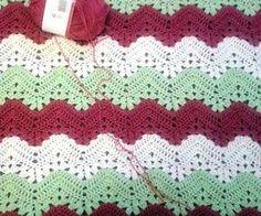 [Free Pattern] Interesting Effect Alternating Styles: 6-Day Kid Blanket