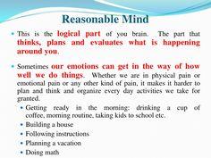 #DBT #Mindfulness ~ Reasonable Mind