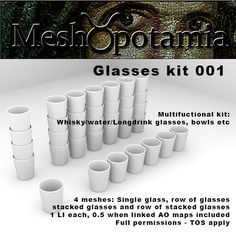 Meshopotamia: Four new mesh kits and eight texture addon packs o...
