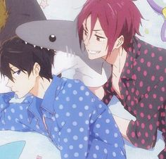 Free eternal summer Rin and Haru Fanarts Anime, Free Anime, Haikyuu Anime, Anime Manga, Anime Characters, Anime Art, Cute Anime Guys, I Love Anime, Nagisa Free