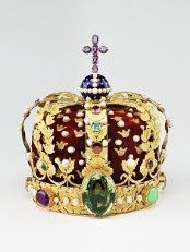 A coroa real - regalia norueguesa (Foto: Lasse Berre)