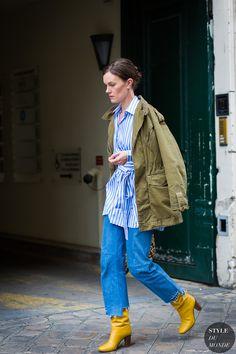 Haute Couture Fall 2016 Street Style: Jo Ellison