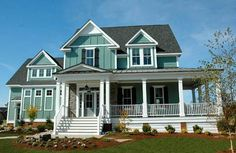 Love the exterior look: Coastal Home Plans - Bridgewater Landing