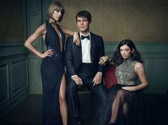 Taylor Swift, Austin Swift, and Lorde | Mark Seliger's Vanity Fair Oscar Party Portrait Studio