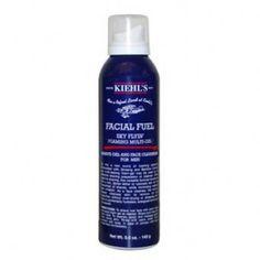 Facial Fuel Sky Flyin Foaming Multi-Gel: Cleanser & Shave Gel for Men - Kiehls Since 1851 Acne Facial, Facial Care, Kiehl's Since 1851, Shaving Tips, Shave Gel, Bottle Packaging, Kiehls, Face Cleanser, The Help