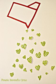 San Valentino: cuori fai da te per decorare la parete
