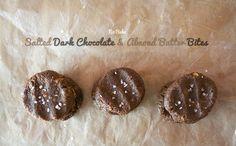 salted-dark-chocolate-almond-butter-bites-vegan