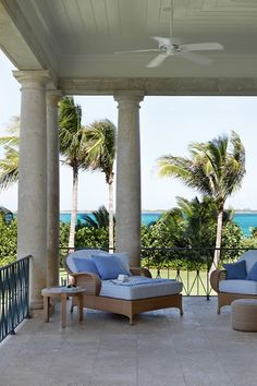 Beach House in the Bahamas | Real Homes - on HOUSE - design, food and travel by House & Garden. A British sensibility and interiors that are not 'too beachy'.