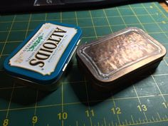 Picture of Copper plated, Domed Altoids Box