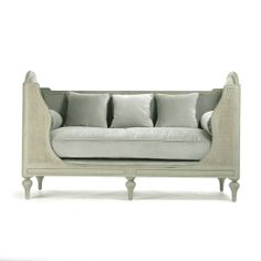 Gorgeous Distressed Finish Daybed Sofa Loveseat Chaise New   eBay