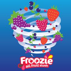Brighten up your Monday afternoon with a refreshing Froozie! #slush #Froozie #NoisyDrinks