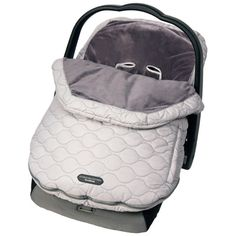 JJ Cole carseat cover for winter. Safest to have a carseat cover in the winter. This way you don't have to bundle baby up. The bulky cloths can interfere with the straps doing their job!
