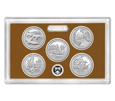 America The Beautiful Quarters 2017 Proof Set Ths Reps Thy Sy My Writings Xpsng Red