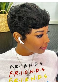 Pixie Cuts, Short Pixie, Short Cuts, Stylish Short Hair, Cute Hairstyles For Short Hair, Make Me Chic, Super Short Hair, Cute Shorts, Pixie Haircut