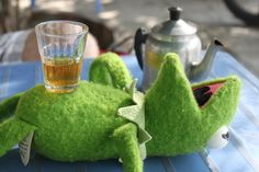 Zelený čaj v deltě Mekongu mě fakt dostal!