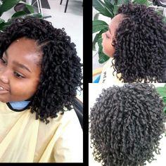 Soft dread crochet Crotchet Styles, Curly Crochet Hair Styles, Crochet Braid Styles, Crochet Twist, Crochet Braids, Curly Hair Styles, Natural Hair Styles, Curly Weave Hairstyles, Kid Hairstyles