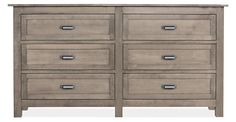 Bennet 72w six drawer dresser $1200.  The Bennett dresser is based on a 19th-century French cabinet we discovered in an antique shop. Featuring quality craftsmanship by Pennsylvania woodworkers (spectra), this classic collection is built to last.