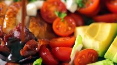 Egg Salad Recipe with the Best Dressing - NatashasKitchen.com Avocado Tomato Salad, Tuna Salad, Cobb Salad Ingredients, Cobb Salad Dressing, Homemade Italian Dressing, Cowboy Caviar, Ranch Recipe, Salad Recipes Video, Pasta Salad Italian