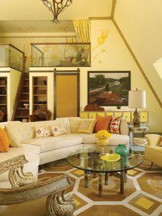 Jeffers Design Group   Portfolio - yellow cheer w/ burnt oranges and pops of aqua. so me.