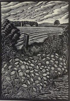Paul Gentry - wood engraving