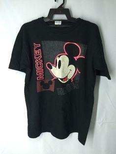 Walt Disney Mickey Mouse  Men Shirt Large Disney Mickey Mouse Minie Mouse Mens Mickey Mouse Tokyo Disney T Shirt Men's Size L by MudeanDean