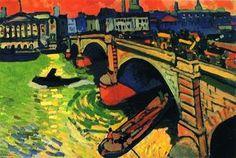 Le Pont De Londres - (André Derain)