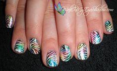 zebra print foils