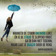 Laat je dragen door de wind - Dichtgedachten #005