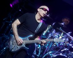 Joe Satriani performs in concert with at ACL Live on January 2018 in Austin, Texas. Gary Miller, Joe Satriani, January 27, Acl, Austin Texas, Live, Concert, Concerts
