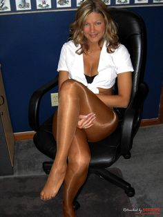 Pantyhose legs Smoking asian