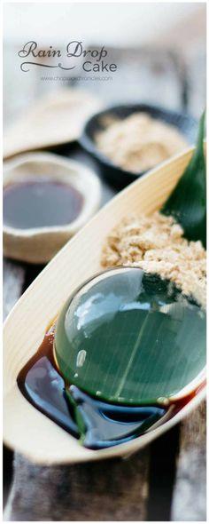 Rain Drop Cake is a super popular Japanese dessert that is so  Mein Blog: Alles rund um Genuss & Geschmack  Kochen Backen Braten Vorspeisen Mains & Desserts!
