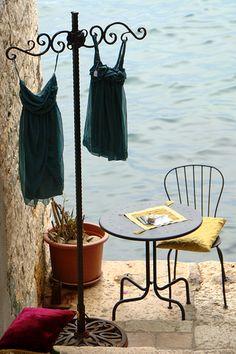 a quiet place in Rovinj, Croatia