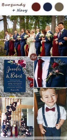 Navy Blue And Gold Wedding, Burgendy Wedding, Navy Blue Tux, Navy Blue Groomsmen, Wine Colored Wedding, Wedding Ideias, Before Wedding, Wedding Season, Dream Wedding