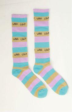 Golfwang Socks by Odd Future at MOOSE Limited