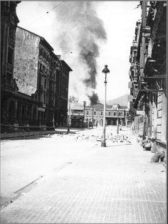 Bombardeo Estación del Norte. Oviedo 1936