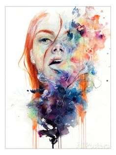 This Thing Called Art Is Really Dangerous Premium Giclee Print by Agnes Cecile - at AllPosters.com.au