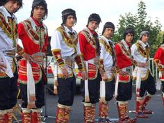 Iranian men in amazing Kurmanji traditional clothing - IRAN  Iran has many different ethnic groups each with their own lovely costumes and traditions