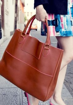 Abigail Lorick Tote | Dark Brown | & Other Stories