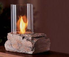 Portable Ethanol Biofuel Tabletop Fire Indoor/Outdoor Fireplace ...