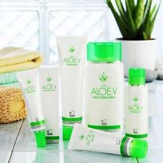 DXN Aloe. V Series DXN Aloe. V Series is formulated using Aloe Vera extract with a blend of other beneficial botanical extracts to hydrate and soothe your skin while preventing a breakdown of your skin's protective barrier.  Cleansing Gel (100 ml) FDA Reg. No.: NN-120424 Hand and Body Lotion (250 ml) FDA Reg. No.: NN-120425 Hydrating Toner (100 ml) FDA Reg. No.: NN-120426 Aqua Gel (50 ml) FDA Reg. No.: NN-120420 Nutricare Cream (30 ml) FDA Reg. No.: NN-120422 #DXN #AloeV #Skin #Care