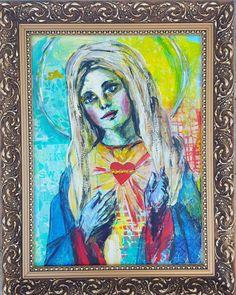 Maria. Mary. Hail Mary. 💛💎👑 Marija. Šv. Mergelė Marija ❤🖼