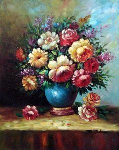 pintura em tela flores - Pesquisa Google