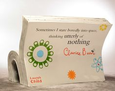 Clarice Bean, reading and thinkingby Lauren Child. Design: Lauren Child. Original illustration by Rae Smith.
