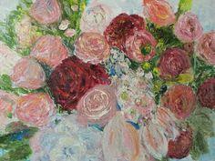 Flowers. 2012. 53.0 x 45.5cm. Oil on Canvas.