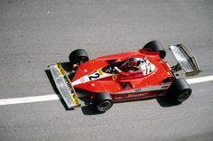 gilles villeneuve, Ferrari 312 T3, 1978